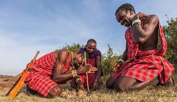 Olkoroi Camp in Kenia
