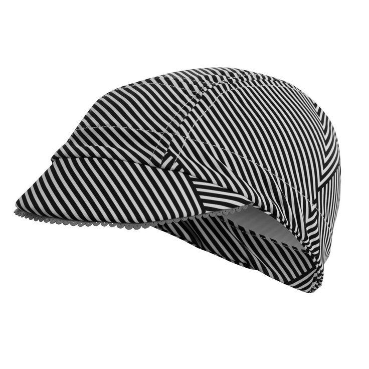 Bias Stripe Cyclist's Femme Cap
