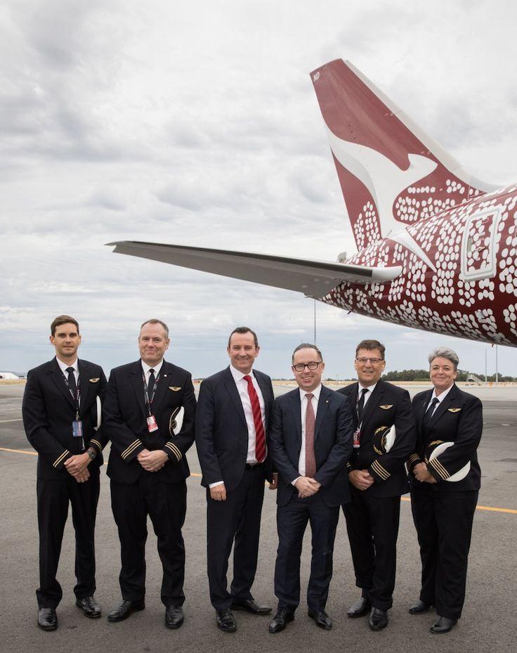 Qantas inaugure le premier vol direct entre l'Europe et l'Australie (24 mars 2018)