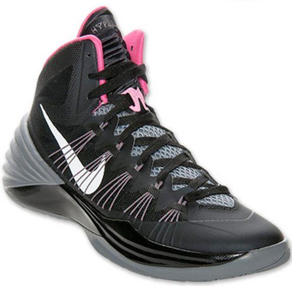 Nike Hyperdunk 2013 \u2013 Black \u2013 Grey \u2013 Pink