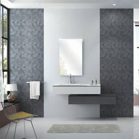 Arden White Linen Effect Porcelain Wall Tiles - 30 x 60cm  Profile Image