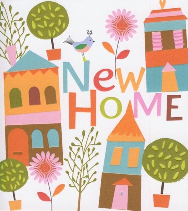 Best Crafts Images On Pinterest Cartoons New Homes And Baby - New home clipart
