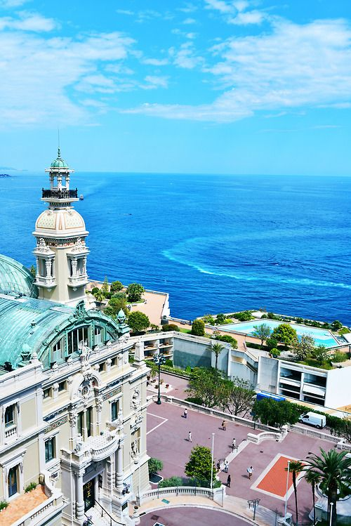 Monaco on The French Riviera