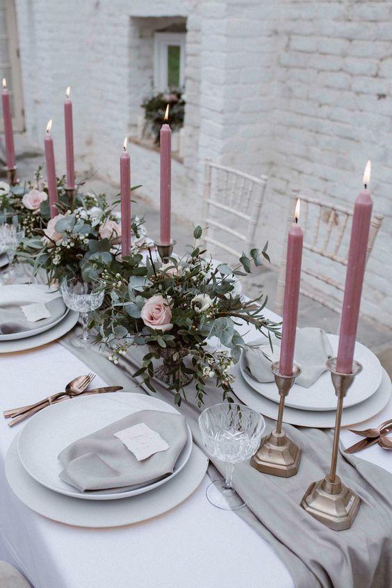 5 beste Hochzeitsfarbkombinationen mit Pink