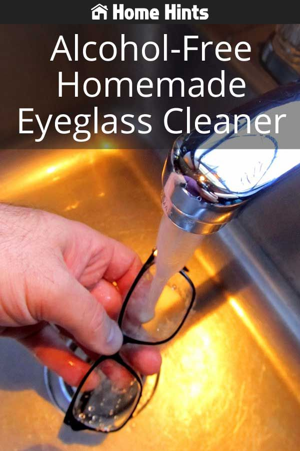 9fdfa2fbe4 Alcohol-Free Homemade Eyeglass Cleaner