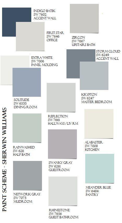 Das BEST-Ganzhaus-Farbschema, das in jeder Beleuch…