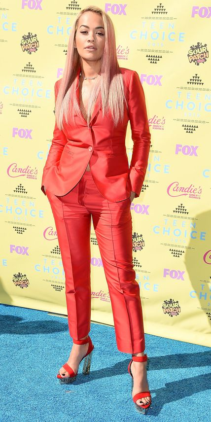 Rita Ora in Max Mara - Teen Choice Awards 2015: See the Red Hot Looks | InStyle.com