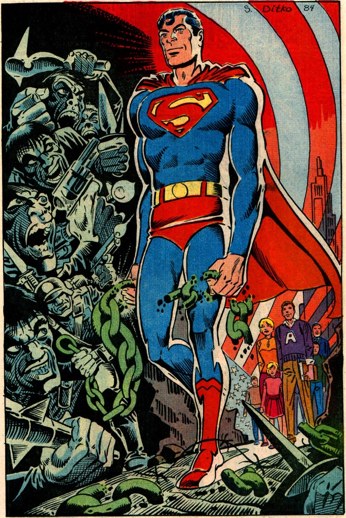 Superman by Steve Ditko
