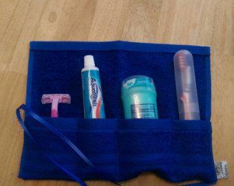 Reizen toiletartikelen tandenborstel houder. door AnitaRoseDesigns
