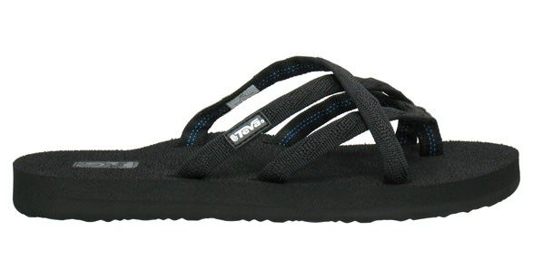 Womens Olowahu By Teva Footwear...love mine. I tried on Chacos trying to find an alternative to my Keens and when they didn't work I tried on these and fell in LOVE and the price is much nicer. Wearing these to church, and can't wait for my new sandal tan lines.  Mush describes how they form to your foot comfy, didn't care for the wedge version. Too much pressure between my toe. Flats are aWESOME!