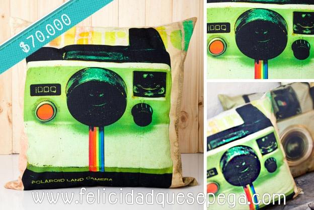 """Cojín """"Polaroid"""" de nuestra nueva colección"""