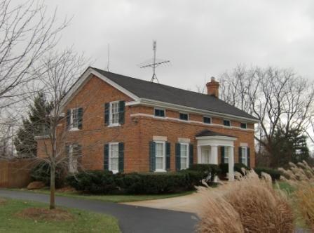 Greek Revival Architecture, Treadwell Popkins house - Ann Arbor area