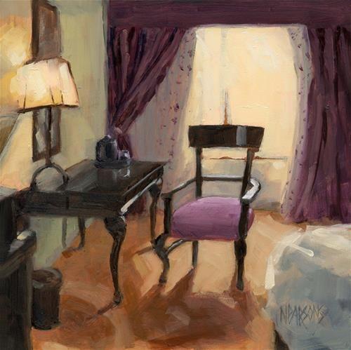 Sold Room Service Original Fine Art For Sale Nancy