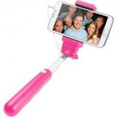 Selfie stick CELLULAR LINE extensibil pink