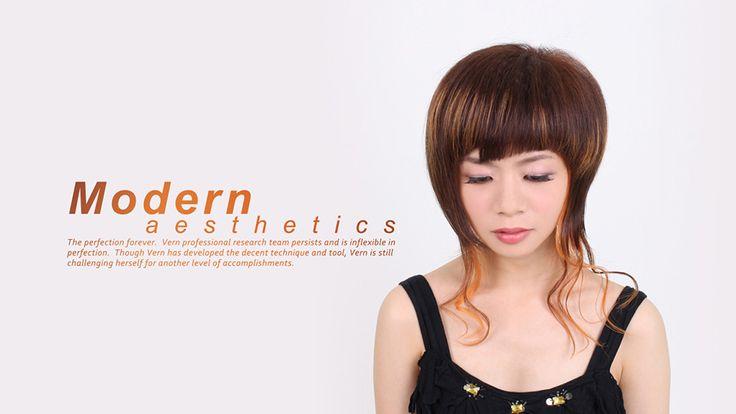 ✂️Geschichtete Frisuren zeigen trendigere Highlights. Frisuren mit geometrischen Pony. Personalisiert mit Funktionen. Wispy Short Bob & Weiche und Schöne L ...