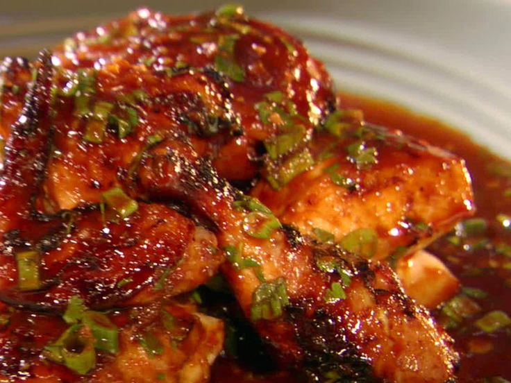 Thai BBQ Chicken recipe from Grill It! with Bobby Flay via Food Network