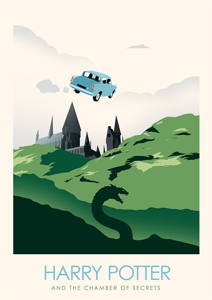 Harry Potter Minimalist Poster Series Created By Ciaran Monaghan Harry Potter Poster Harry Potter Book Covers Harry Potter Wallpaper