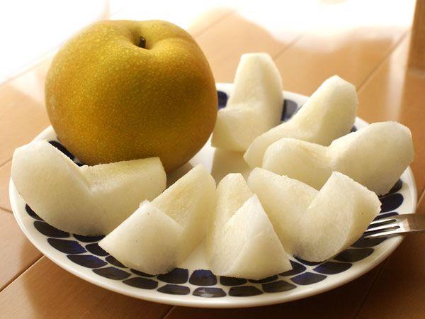 Japanese pear. 新潟県加茂市産 梨