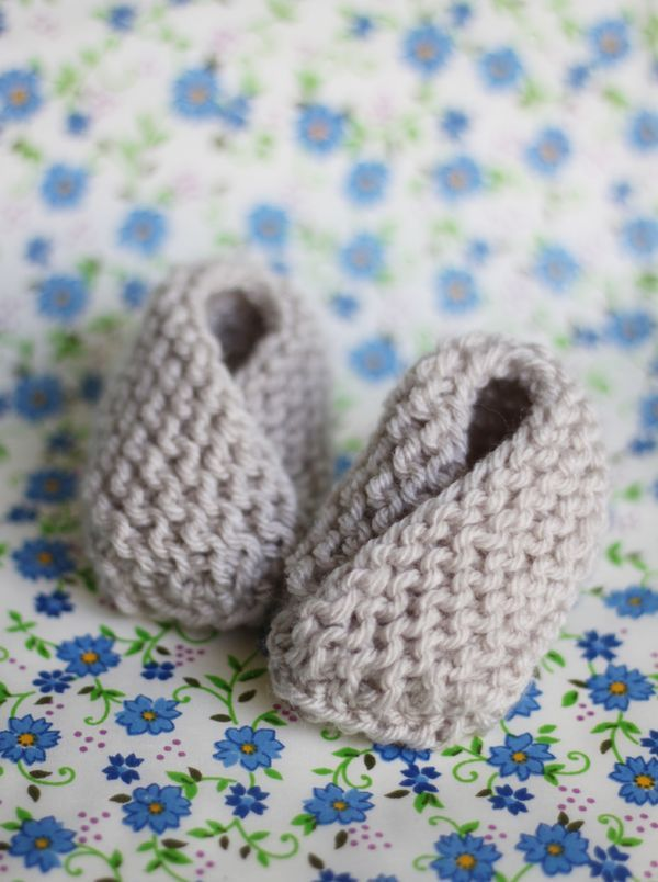 New mom? Have a baby shower coming up? Just feel like knitting? Check out these adorbs Bitty Baby Booties