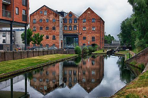 Smiths Flour Mill, Walsall Canal.