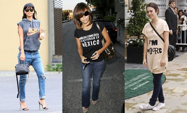 famosas con camisetas blancas - Buscar con Google