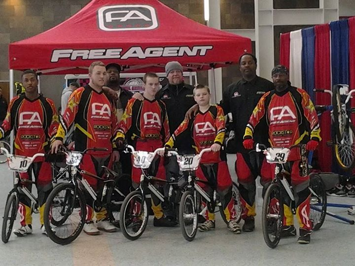 Free Agent Team representing in Louis like, KY @ USA BMX Bluegrass National.