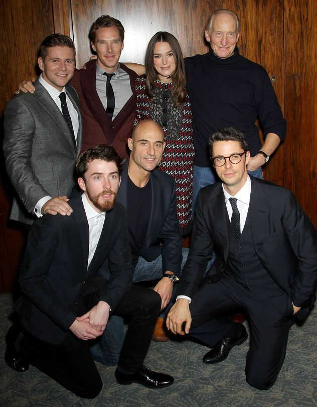 Benedict and The Imitation Game cast