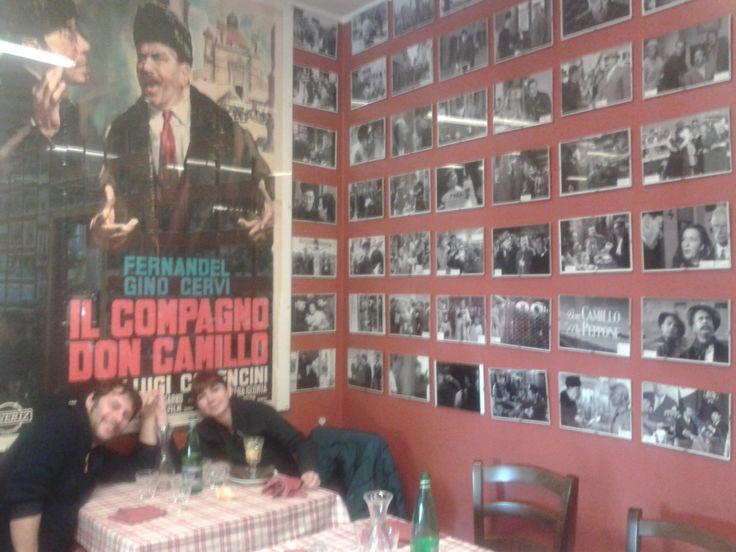 Durante le vacanze natalizie siamo andati a fare una gita di una giornata a Brescello luogo diventato celebre in quanto set delle avventure di Don Camillo e Peppone. I due protagonisti accompagnano...