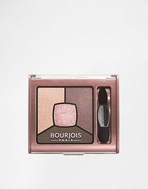 Bourjois Eyeshadow Quad. The middle one is so beautiful on.