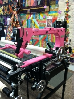 Pink Gammill Quilting Machine For Sale In Billings