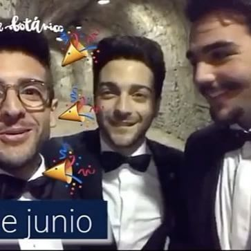 By @nochesbotanico Los chicos de @ilvolomusic mandan un saludo y os invitan a #NochesdelBotánico el 24 de junio- Además, nos cuentan que es el cumpleaños de @barone_piero ¿Habrá sorpresa en Madrid? #IlVolo #PieroBarone #Sorpresa #concierto #España #Madrid #graciasporcompartir #ilvoloversdelmundo #ilvolomundialoficial