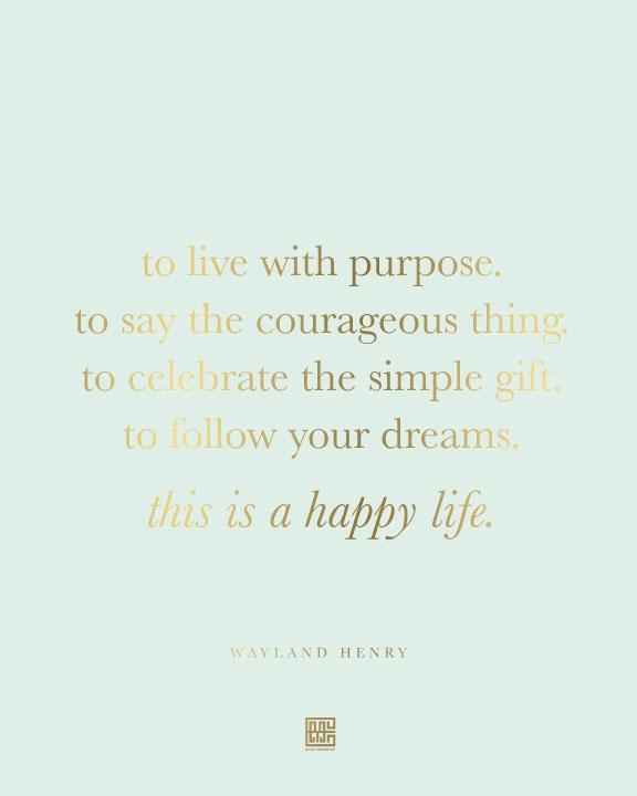 [happy life]