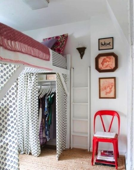 Take advantage of #dorm room #organization   since I do not have a closet, maybe this is what I'll do??