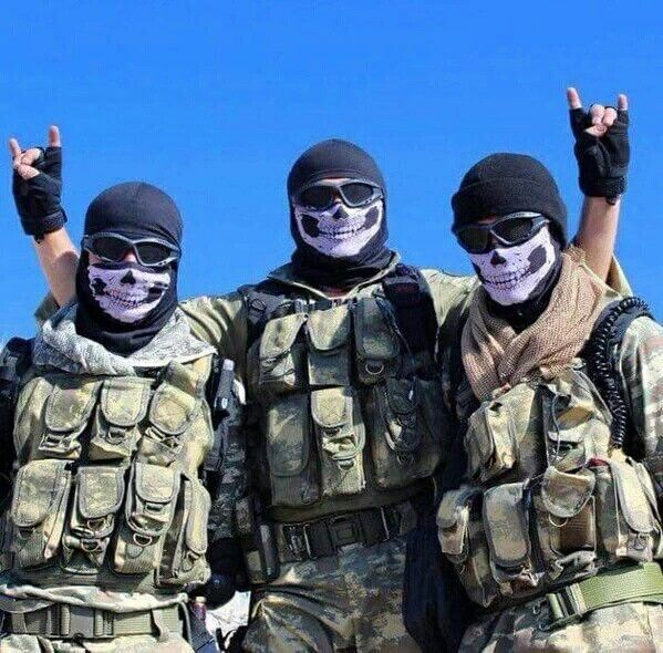 Turkish Special Operation Soldiers..