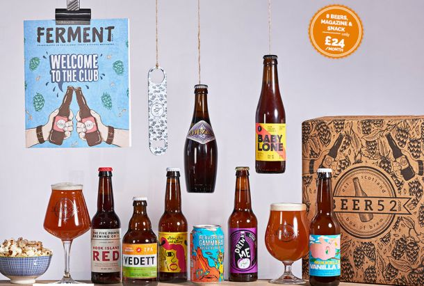 We love this subscription for craft ales and beers for the best man. Find other ideas for the bridal party presents that they'll love too here