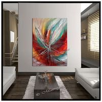 Desborda pasión Original pintura abstracta moderna por largeartwork Más