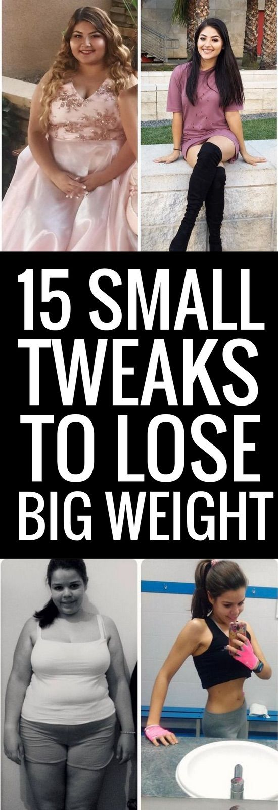 15 small lifestyle changes that will make you lose weight for good.