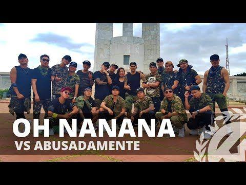 Oh Nanana Vs Abusadamente Zumba Tml Crew X Team 90s Youtube