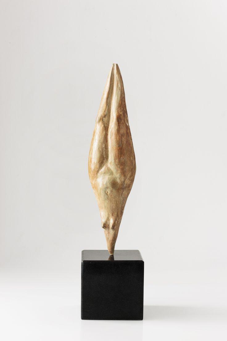 "An original bronze work by Carman Clews entitled ""Headstand II, Salamba Sirsasana."" H 50cm.. #Sculpture #Yoga #Zen #InteriorDesign #FineArt #Art #SouthAfricanArt #SouthAfricanArtist #CarmenClews #Transcending #Ego #PinOfTheDay #Bronze #SalambaSirsasana #Posture For more please visit www.finearts.co.za"