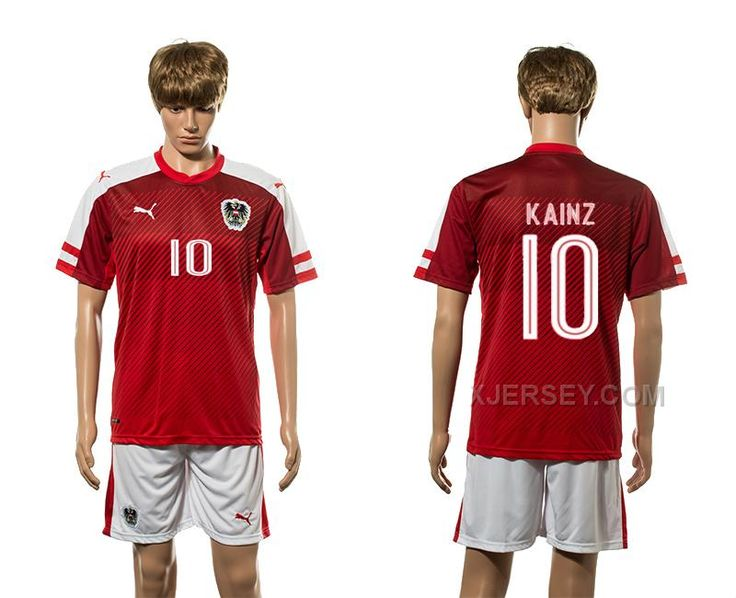 http://www.xjersey.com/austria-10-kainz-home-euro-2016-jersey.html AUSTRIA 10 KAINZ HOME EURO 2016 JERSEY Only $35.00 , Free Shipping!