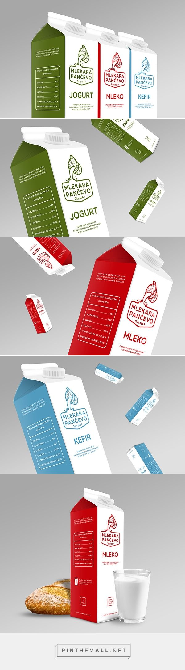 Milk - packaging