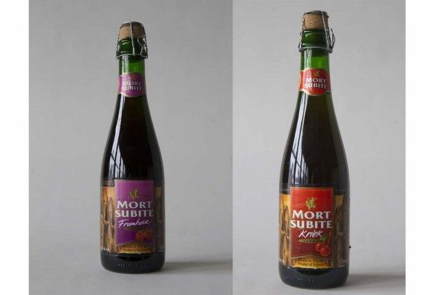 Avec la Saint-Valentin qui approche à grands pas, voici une bière tout indiquée pour déclarer votre flamme à l'être aimé. Servez-lui une Mort subite à la framboise ou à la cerise (kriek) de la brasserie belge Alken-Maes.