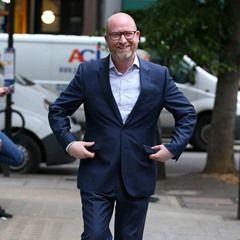 UKIP leader Paul Nuttall arriving at BBC Radio Two studios in London