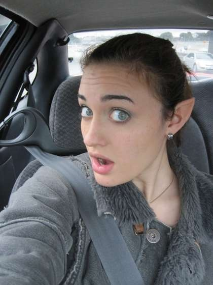 How to make elf ears! This will happen at The Desolation of Smaug.