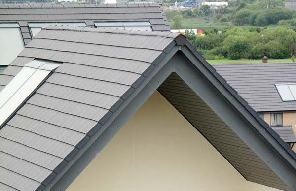 Marley Concrete Interlocking Tile 355 Edgemere Slate Smooth Grey Interlocking Tile Roof Styles Slate Roof Cost