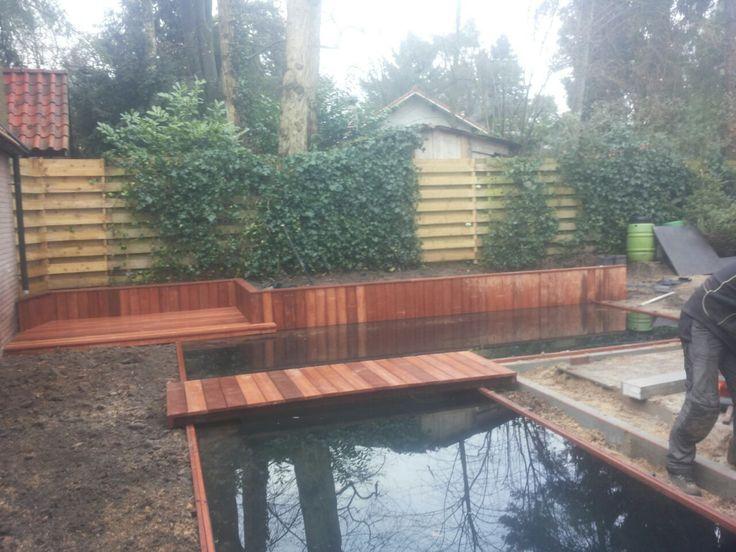 25 beste idee n over tuin brug op pinterest droge rivieroever tuinieren en tuinieren - Foto van tuin vijver ...