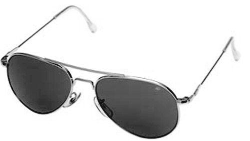 AO American Optical Flight Gear General Series Sunglasses, Silver Frame, True Color (Gray) 30577 American Optical. $47.99