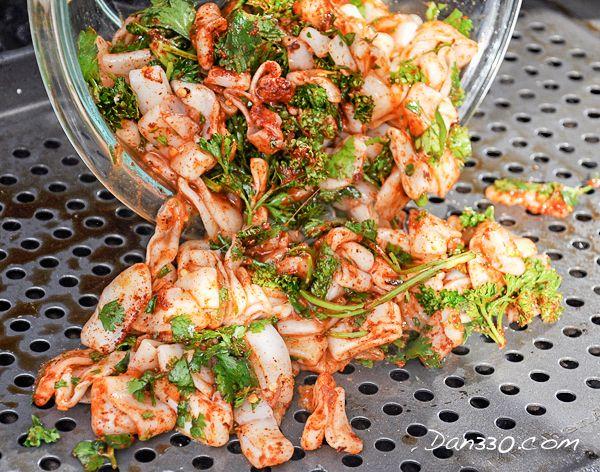 grilled calamari rings