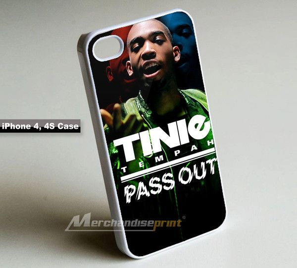 Tinie Tempah Pass Out iPhone 4, 4S Case Cover