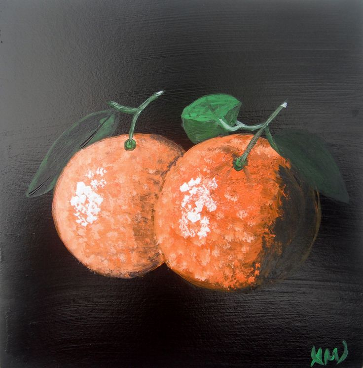 Oranges. Paintings on wood by Art Online